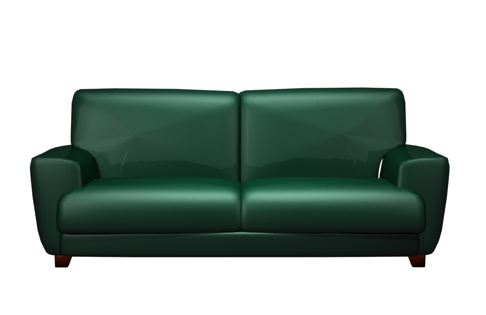 Dark green sofa 3d model of Chinese