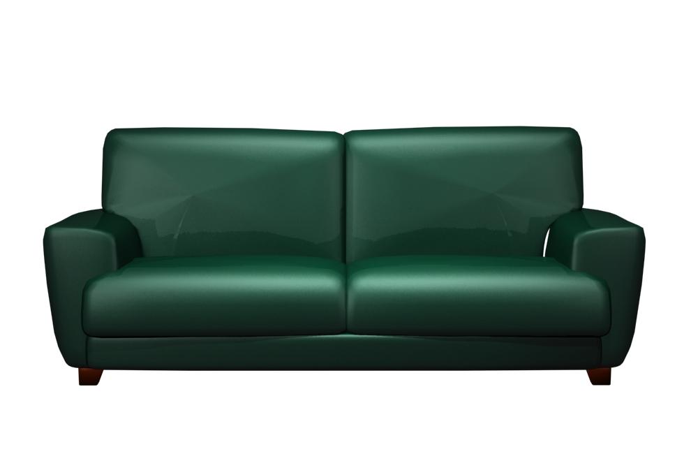 Dark green sofa 3d model of Chinese