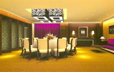 Dinner Room 3D Model