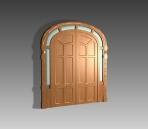 Door 004-the outter the door 44 3D Model