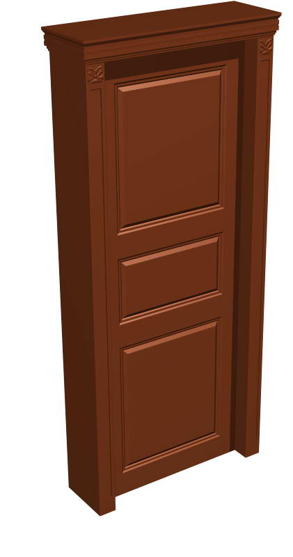 Door 004-the outter the door 44 3D Model