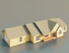 Dwellings/ Architectural Model-4 3D Model