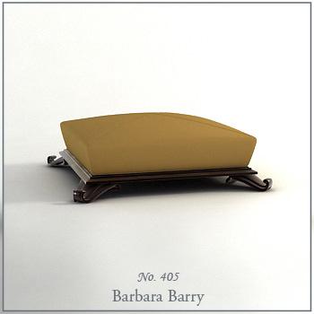 Earth-colored fashion sofa model 3D Model