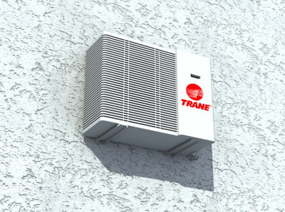 electrical 3–Air-conditioning outdoor model 3D Model