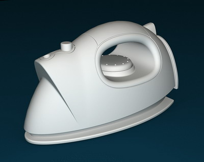 electrical 5 — electric iron 3D Model