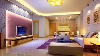 Elegant fantasy warm living room 3D Model