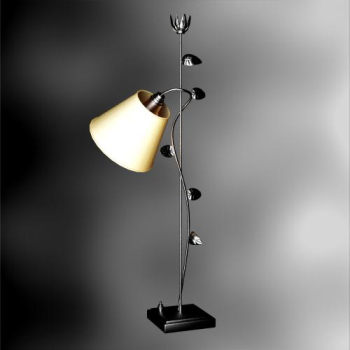 European creative personality, elegant floor lamp 3D Model