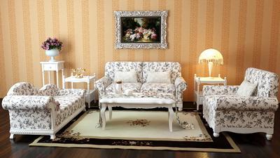 European garden-style sofa 3D Model Portfolio