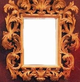 European mirror 3D Model