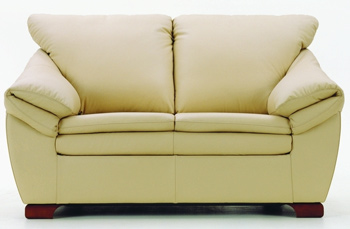 European modern simple double seats sofa 3D Model