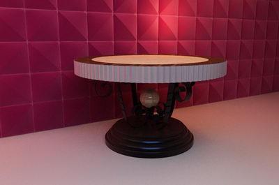 European Round Table 3D Model