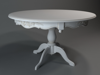 European Round Table 3D Model of 2