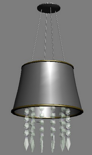 European-style chandeliers Model 2-5 3D Model