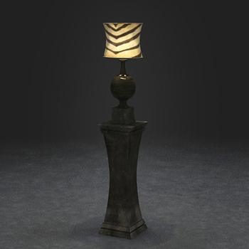 European style classical lamp 3D Model