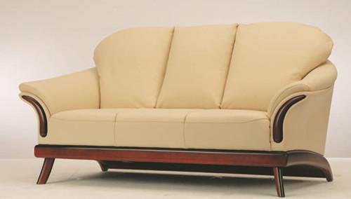 European-style cushion three seats sofa 3D Model