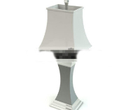 European style household lamp 3D Model