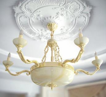 European-style living room chandelier 3D Model