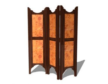 European-style simple screen 3D Model