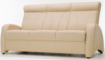 European-style three seats sofa 3D Model