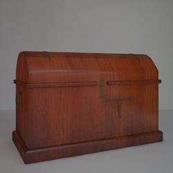 European wood retro locker 3D models