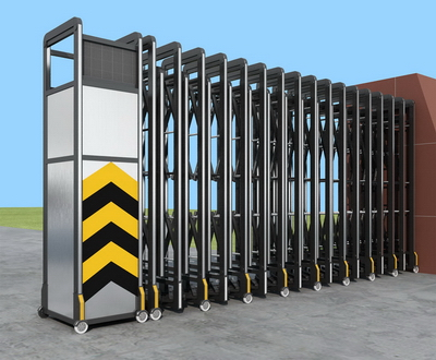 Exquisite electric shift gate 3D Model