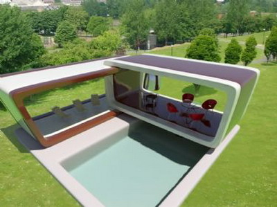 Exterior Design: Swimming Pool and Arbour 3Ds Max Model