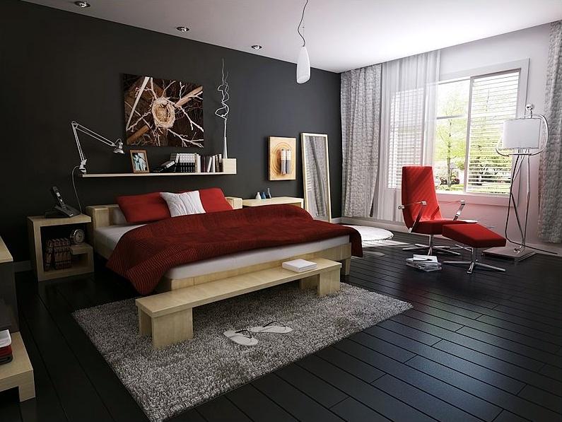 Fashion-bedroom model 3D Model