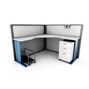 Fashion boutique desk combination7-5 3D Model