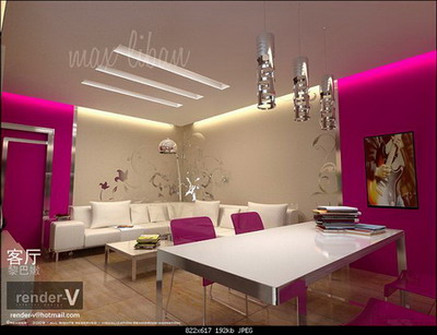 Fashion Living Room 3D models