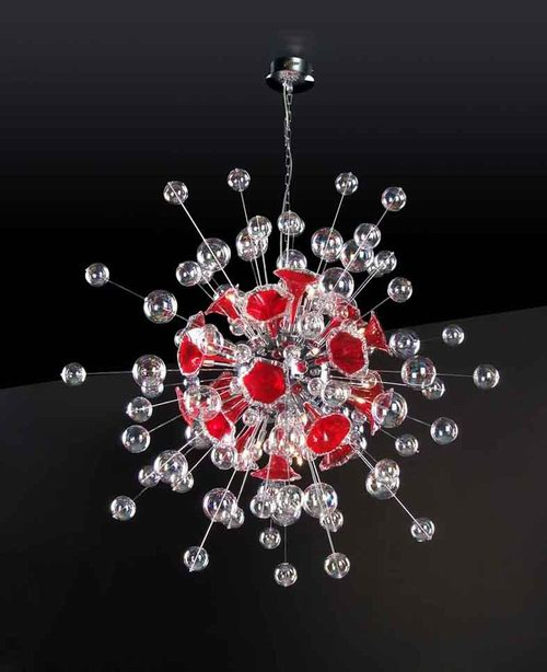Fashion personalized crystal chandeliers 3D Model