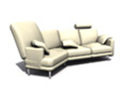 Fashion Sofa Model _10 3D Model