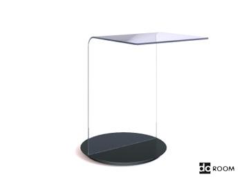 Fashion styling glass desktop 3D Model