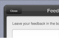 Feedback Form Interface PSD