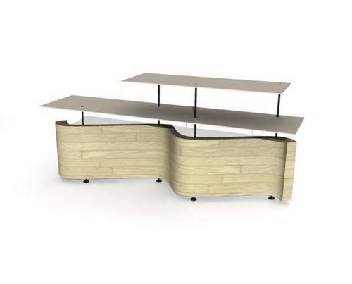 fice furniture / desks-24 3D Model