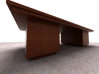 fice furniture/ meeting tables 3D Model