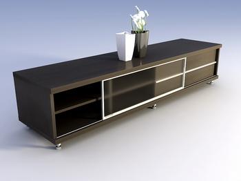 Fine furniture, solid wood cabinet TV cabinet 3D Model