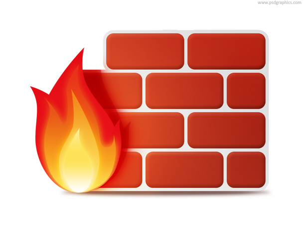 Firewall Icon Psd Free Download