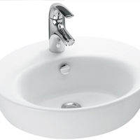 Fresh white sink 3D Model
