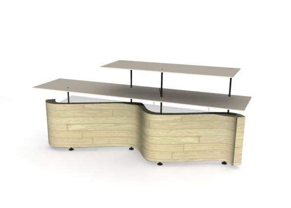 Front Desk 3D Model