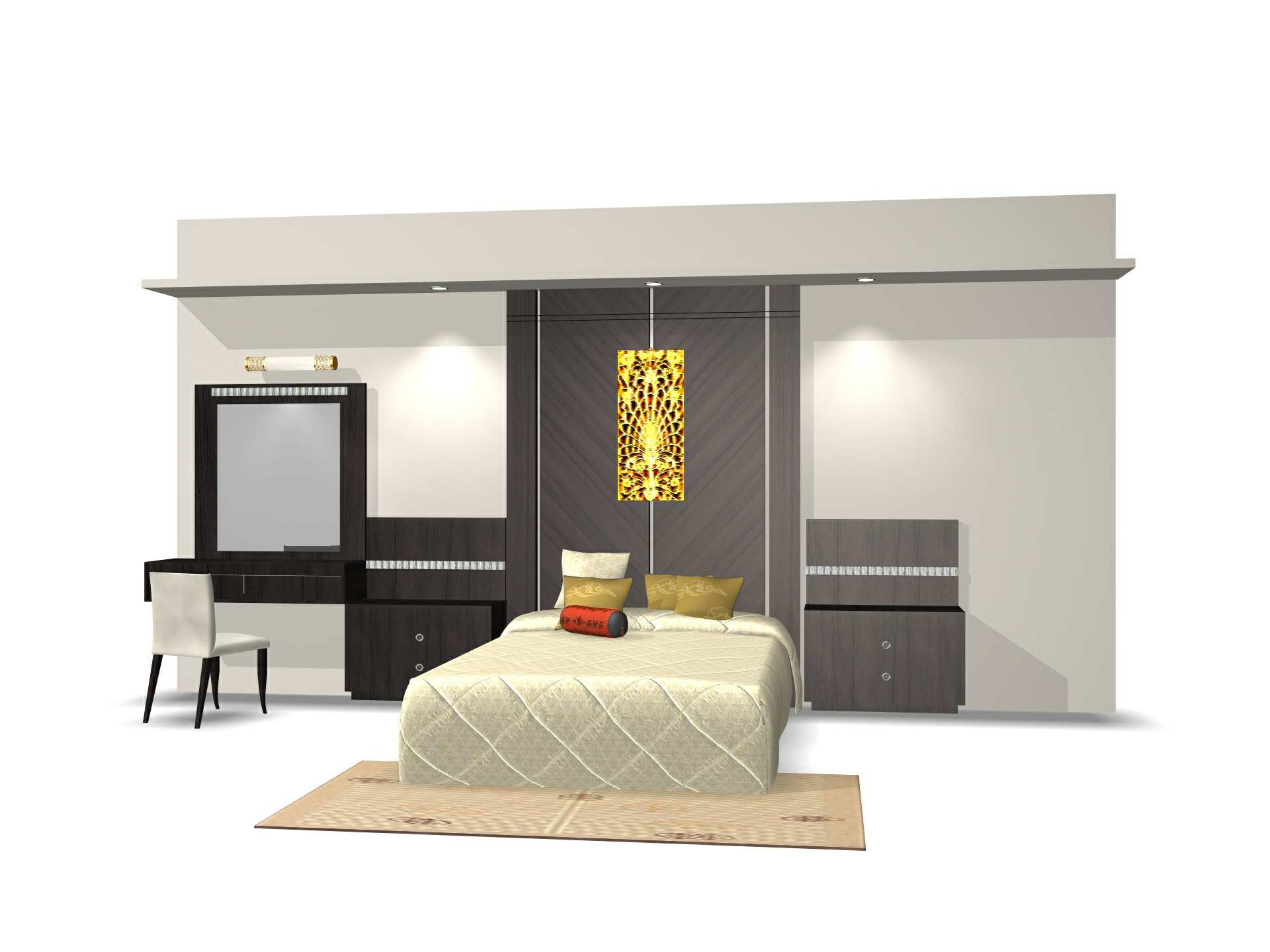 Furniture – 01-bed 3D Model