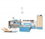 Furniture- 06-bed 3D Model