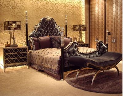 Furniture 3Ds Max Model: Bedroom Furniture Combination