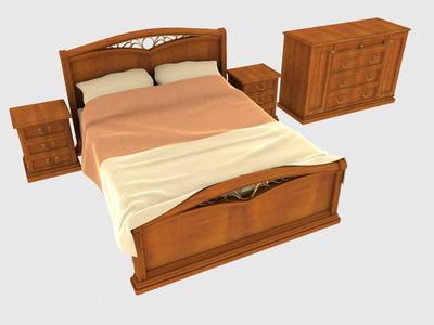furniture –beds 3 3D Model