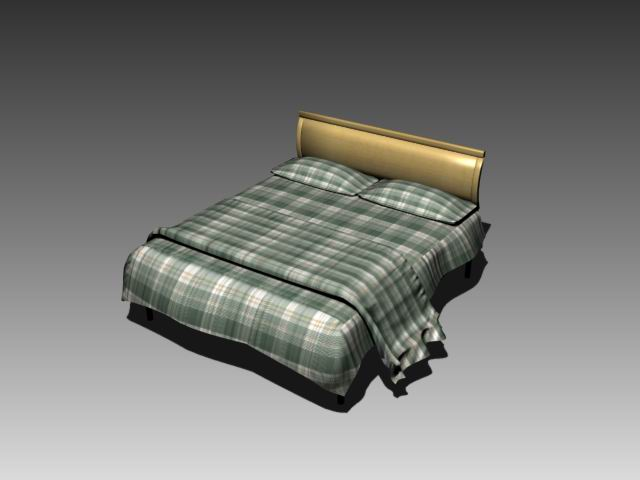 Furniture – beds a004 3D Model