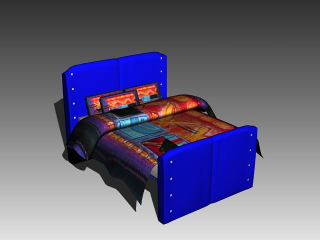 Furniture – beds a006 3D Model