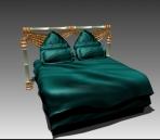 Furniture – beds a007 3D Model