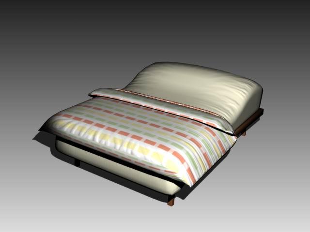 Furniture – beds a009 3D Model