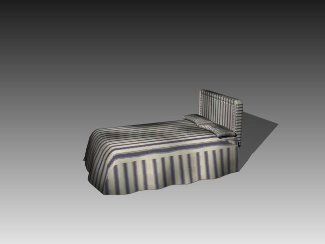 Furniture – beds a011 3D Model