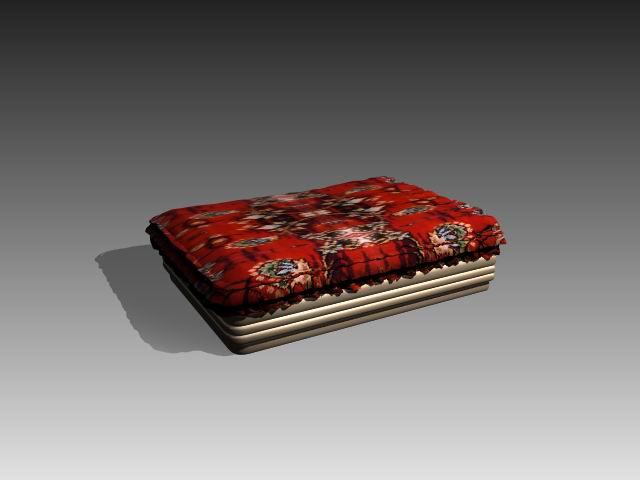 Furniture – beds a014 3D Model