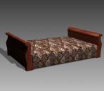 Furniture – beds a017 3D Model